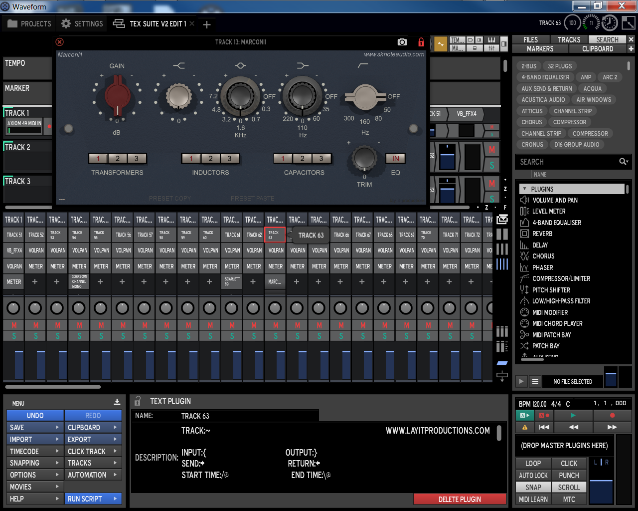 acqua plugins download